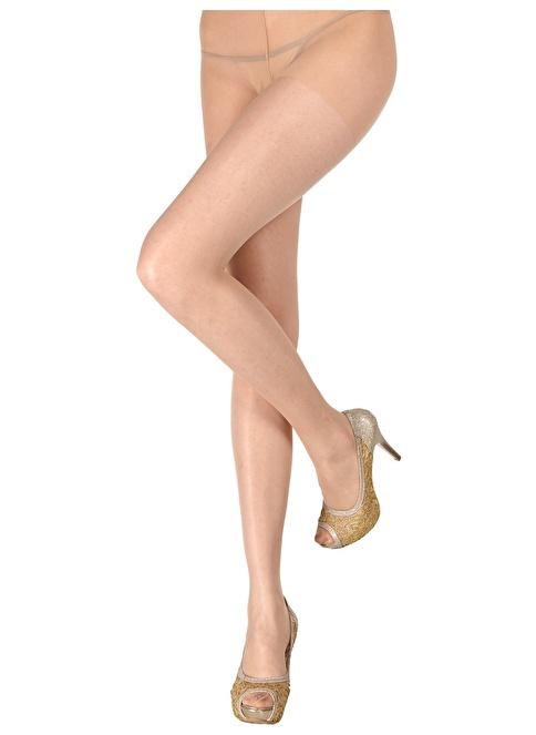 Pierre Cardin Mat Külotlu İnce Çorap Renkli